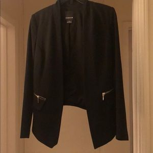 Trouve Black Fitted Blazer from Nordstrom